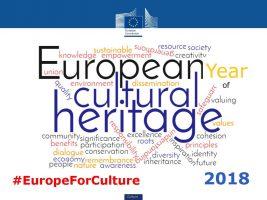 2018 – Anno europeo del patrimonio culturale