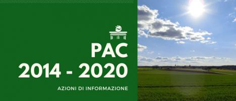 Azioni di informazione sulla PAC 2014-2020