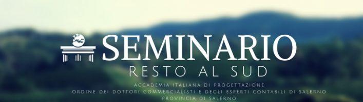 21 Febbraio seminario Resto Al Sud presso la Provincia di Salerno